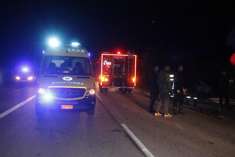 Τραγωδία στην άσφαλτο στην Αλεξανδρούπολη: Ανασύρθηκαν δύο τραυματίες και 8 χωρίς τις αισθήσεις τους