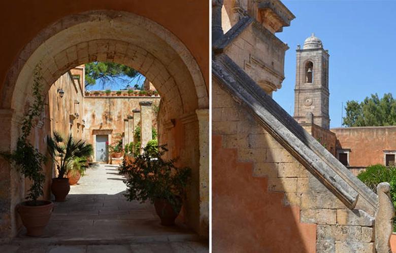 Η εντυπωσιακή Μονή Τζαγκαρόλων στην Κρήτη