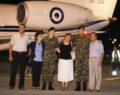 Έφθασαν στην Ελλάδα οι δύο Έλληνες στρατιωτικοί