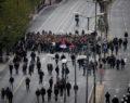 Η πορεία με την αιματοβαμμένη σημαία του Πολυτεχνείου ολοκληρώθηκε