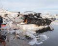 Εικόνες από τα σκάφη που κάηκαν στη Γλυφάδα