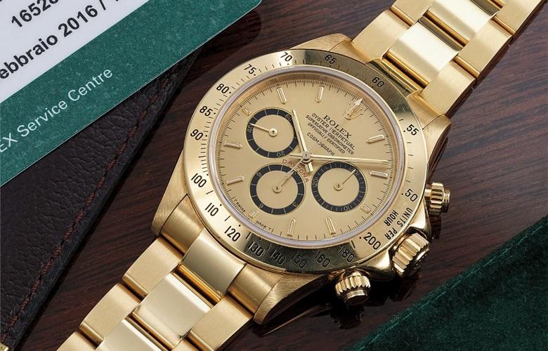 Αυτό είναι το χρυσό Rolex του Άιρτον Σένα – News.gr