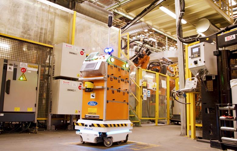 To ρομπότ της Ford που μεταφέρει ανταλλακτικά – News.gr