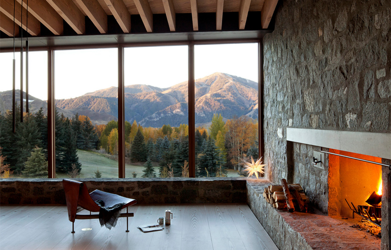 To μαγικό χειμερινό εξοχικό που λατρεύει το ορεινό τοπίο – News.gr