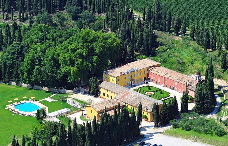 Villa Cordevigo, φωλιασμένη μέσα στους αμπελώνες στο κέντρο της περιοχής Bardolino στην Ιταλία