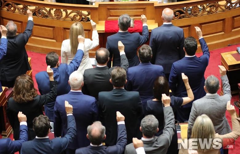 Όλα όσα έγιναν στην ορκωμοσία της νέας Βουλής – Ο θρησκευτικός όρκος, ο όρκος στο Κοράνι και οι ωραίες παρουσίες