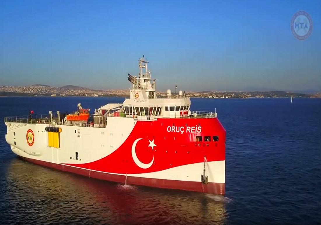 Νέα πρόκληση από την Τουρκία: Εξέδωσε navtex για έρευνες του Ορούτς Ρέις