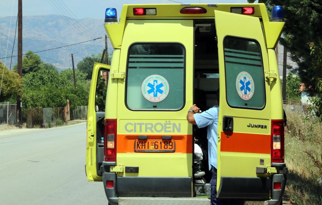 Τροχαίο με δύο σοβαρά τραυματίες στις Γούβες Ηρακλείου
