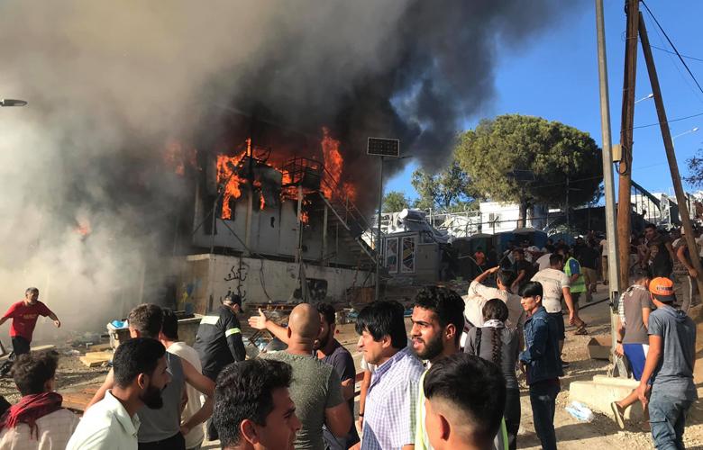 Τραγωδία στη Λέσβο: Κάηκε ζωντανή 27χρονη μητέρα τριών παιδιών σε δομή φιλοξενίας...