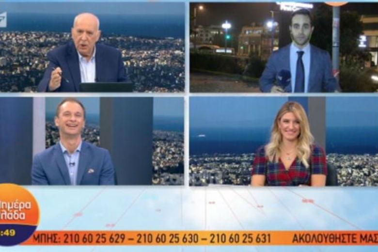 Έξαλλος ο Γιώργος Παπαδάκης με ρεπόρτερ: Είσαι άσχετος, φύγε με τον πεοδείκτη