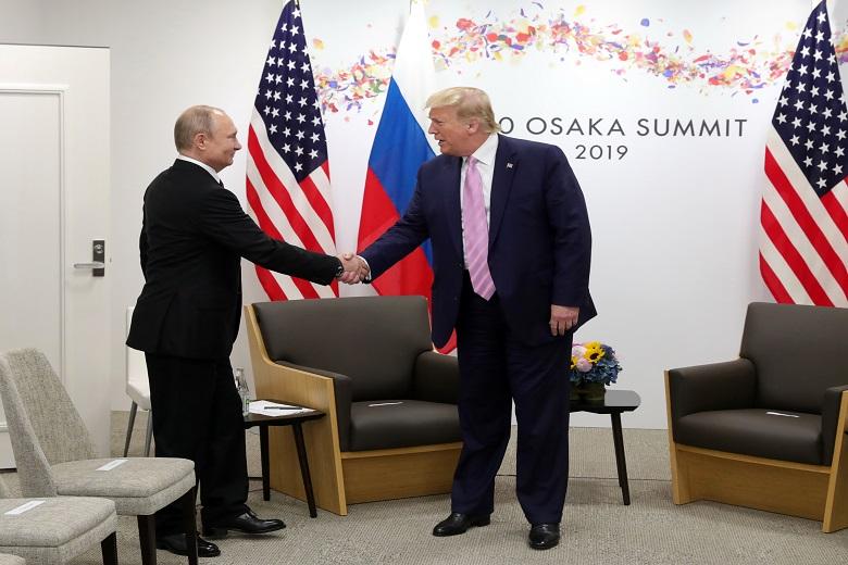Πούτιν: Περιμένω τον Τραμπ για συνομιλίες στη Μόσχα