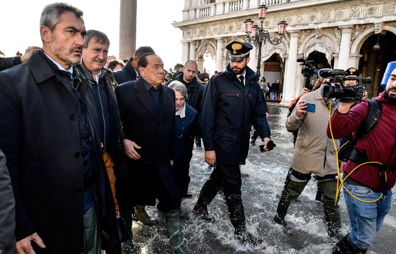 Ο Κόντε κήρυξε τη Βενετία σε κατάσταση έκτακτης ανάγκης