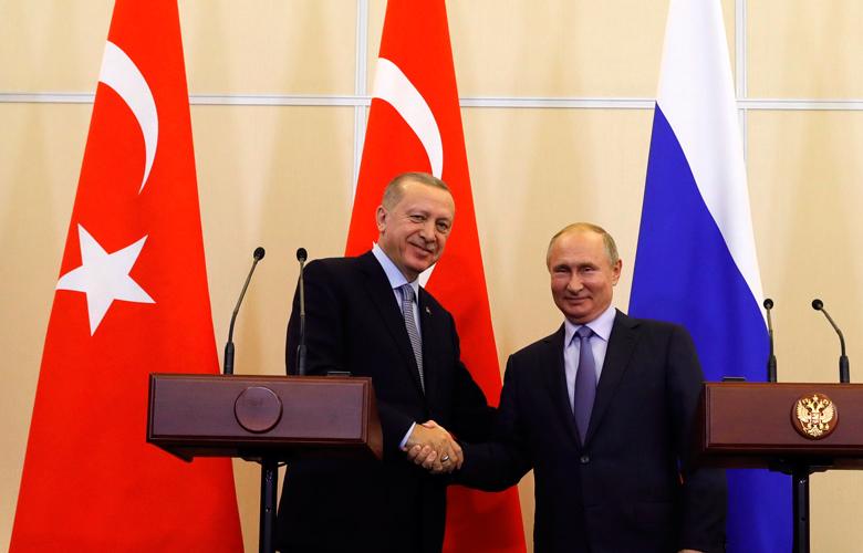 Ερντογάν και Πούτιν συνεχίζουν τη συνεργασία των δύο χωρών...