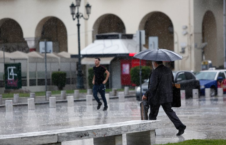 Εκτακτο δελτίο επιδείνωσης καιρού – Έρχονται βροχές και χαλάζι