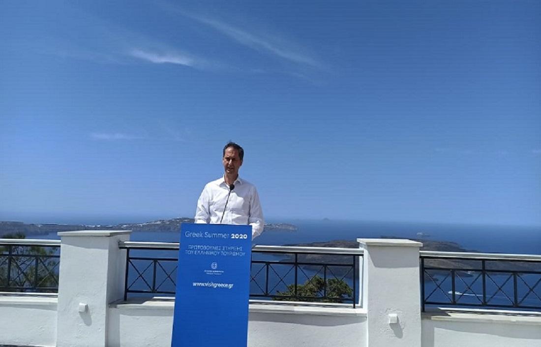 Οι τρεις νέες εξειδικευμένες πρωτοβουλίες για την επανεκκίνηση του ελληνικού τουρισμού