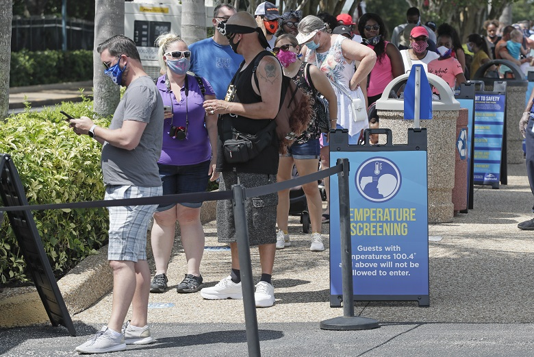 Κοροναϊός: Νέο ρεκόρ ημερήσιων κρουσμάτων στη Φλόριντα