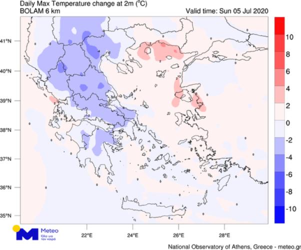 Ο καιρός «αγριεύει» μετά τον καύσωνα: Ποιες περιοχές θα χτυπήσει – Δείτε χάρτες