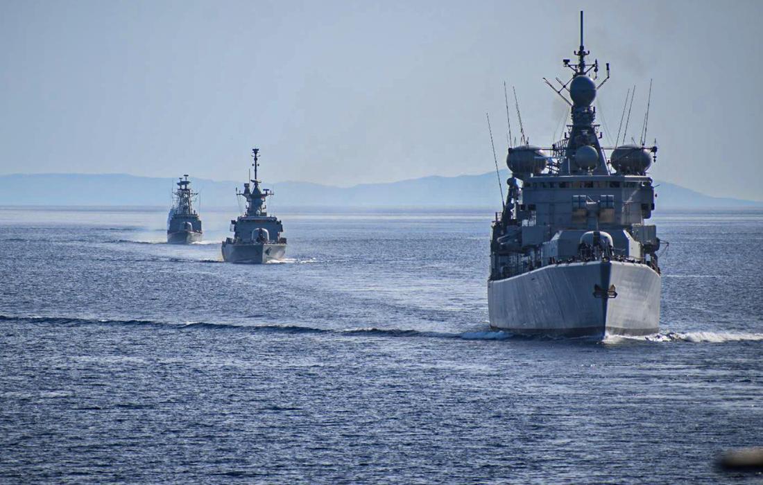 Στο ανατολικότερο σημείο της ελληνικής υφαλοκρηπίδας το Όρουτς Ρέις – Στενή παρακολούθηση από το Πολεμικό Ναυτικό