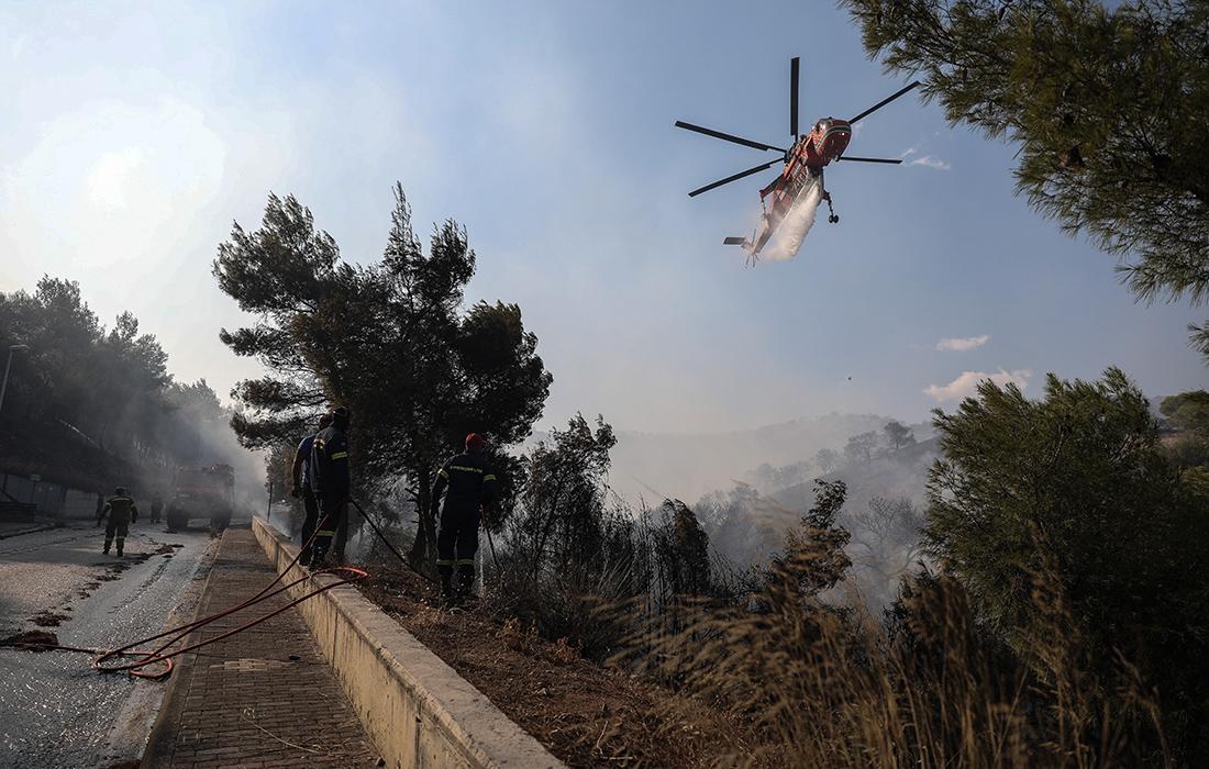 Δύο πυρκαγιές σε Κύθνο και Μάνη – Έχουν οριοθετηθεί από την πυροσβεστική