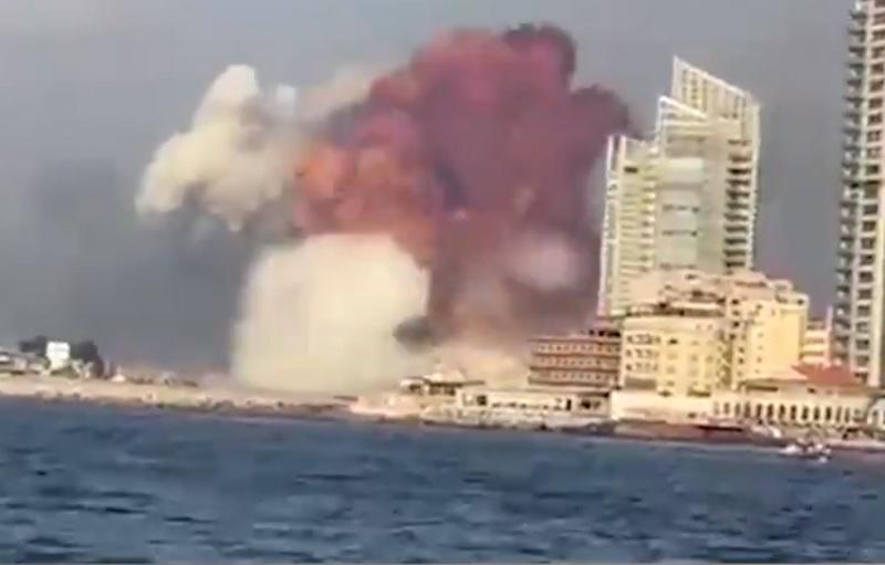 Ισοδύναμη με σεισμό 4,5 Ρίχτερ η έκρηξη στη Βηρυτό