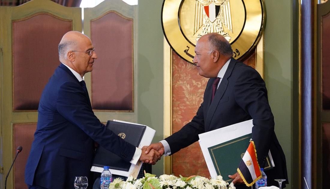 Το κείμενο της συμφωνίας Ελλάδας και Αιγύπτου για την οριοθέτηση της ΑΟΖ