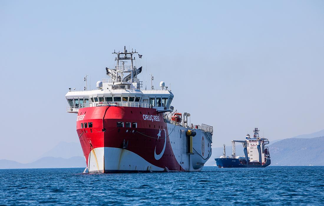Άλλαξε ρότα το Oruc Reis: Κατευθύνεται προς την Αίγυπτο- Εξελίξεις στην Αν. Μεσόγειο