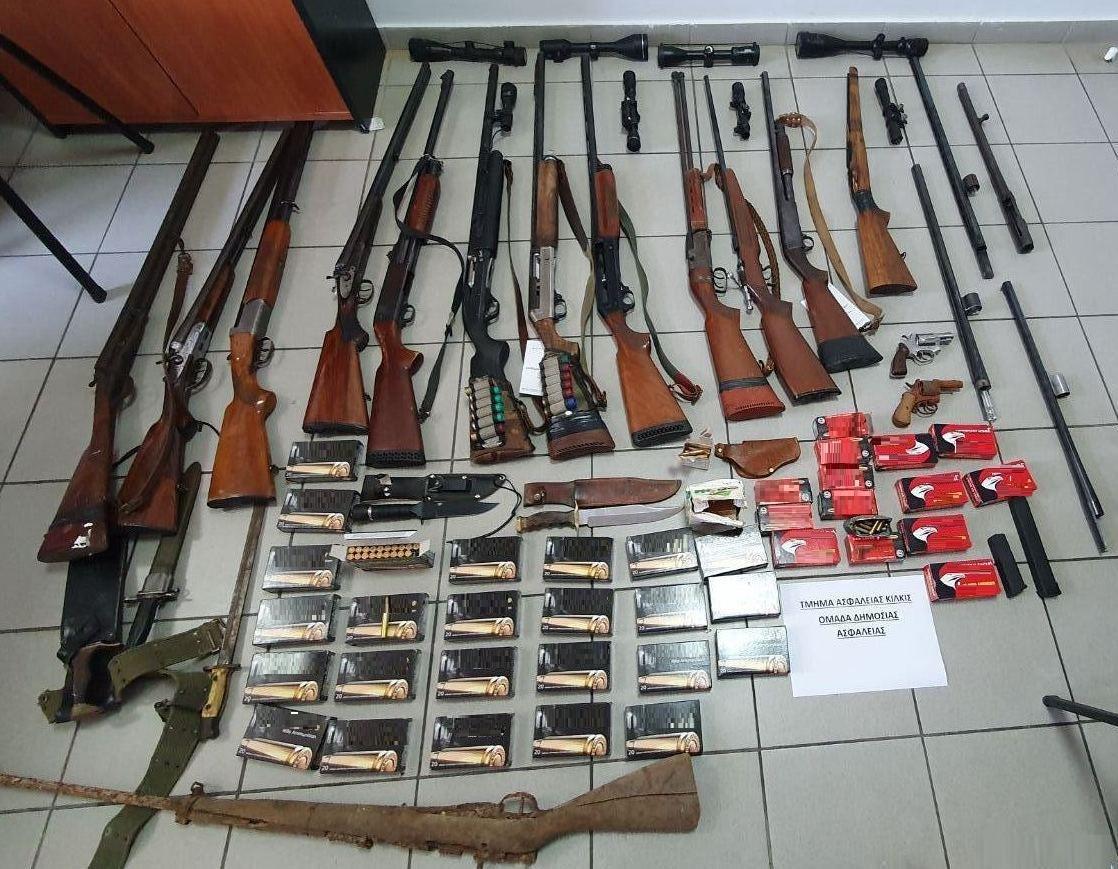 Κιλκίς: Εξηντατριάχρονος είχε στον στάβλο του μικρό οπλοστάσιο