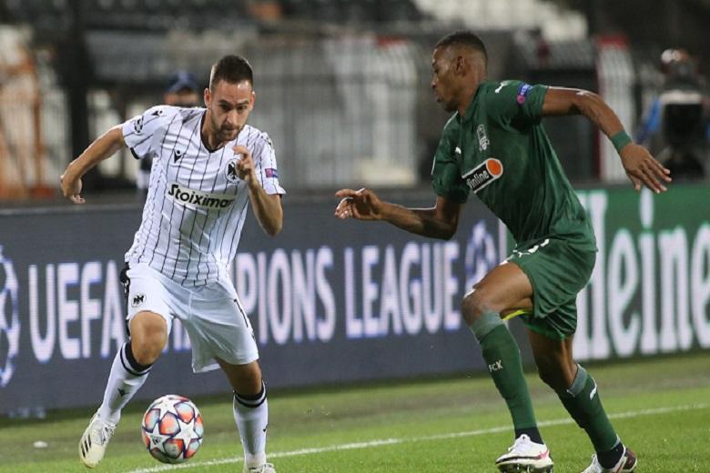 Champions League: Μακριά από το «σεντόνι» και φέτος ο ΠΑΟΚ, ήττα με 1-2 από την Κράσνονταρ