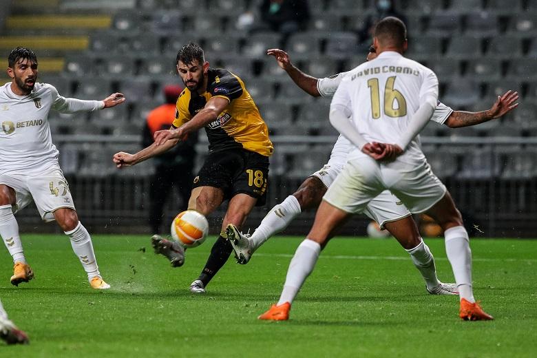 Europa League: Απογοήτευσε η ΑΕΚ, ήττα με 3-0 από τη Μπράγκα