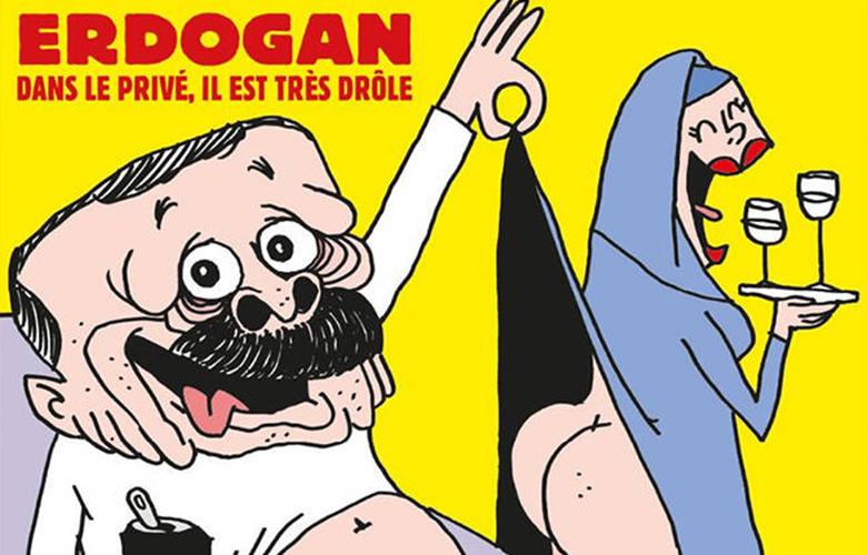 Με γελοιογραφία του Ερντογάν κυκλοφορεί την Τετάρτη το Charlie Hebdo
