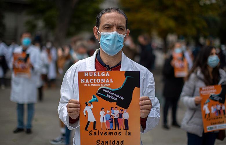 Κοροναϊός: Πανεθνική απεργία γιατρών του δημοσίου στην Ισπανία