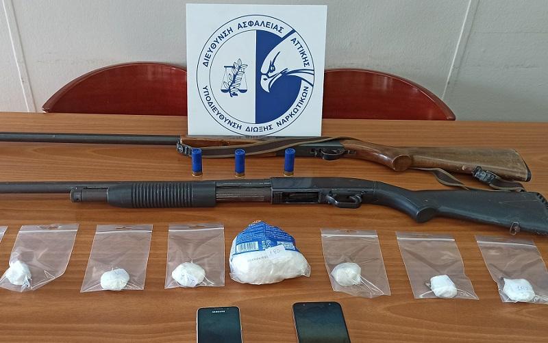 Συνελήφθη 31χρονη με 250 γρ. κοκαΐνη στη Δυτική Αττική
