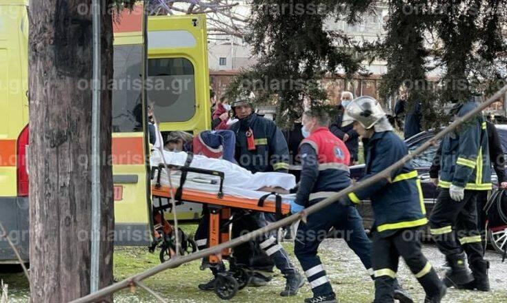 Λάρισα: Στη ΜΕΘ νοσηλεύεται18χρονη που χτυπήθηκε απο ρεύμα στις γραμμές του ΟΣΕ