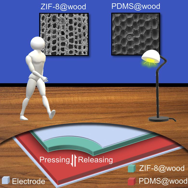 Το πρώτο ξύλινο πάτωμα-μπαταρία που ανάβει λάμπες LED με περπάτημα πάνω του – News.gr