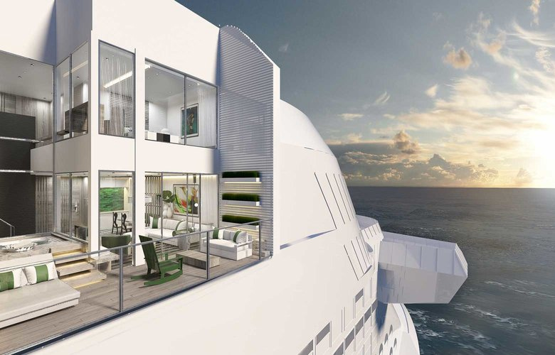 Celebrity Edge: Το κρουαζιερόπλοιο με το...«μαγικό χαλί»