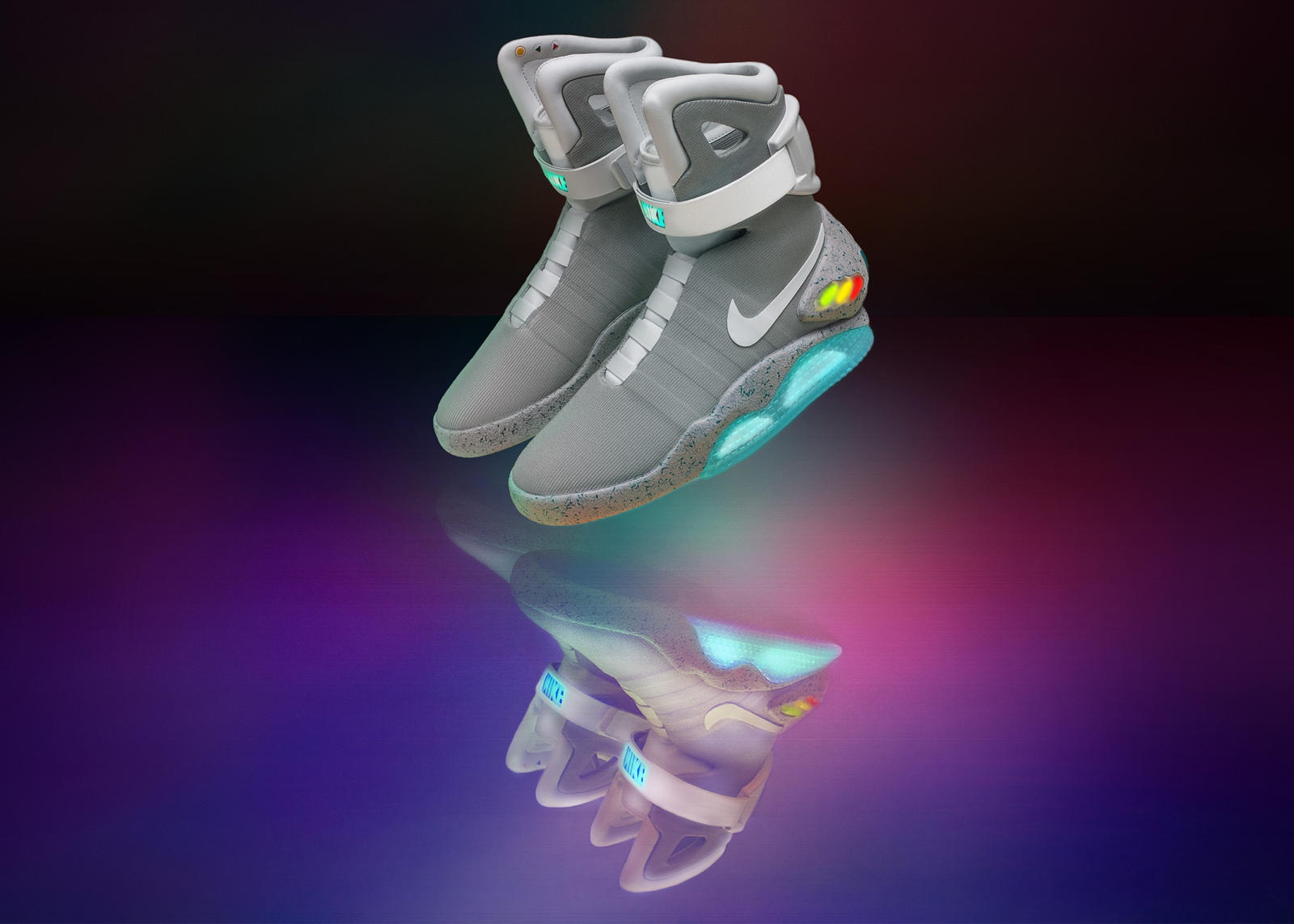 13e83987d0f21 nike air mag. Nike Finally Releases Self Lacing Back to the Future Shoes